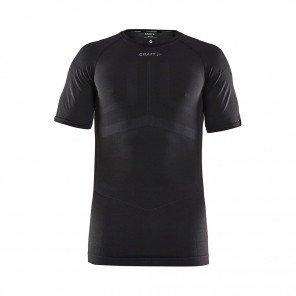 CRAFT Tee-Shirt Manches Courtes Active Intensity Homme   Black / Asphalt